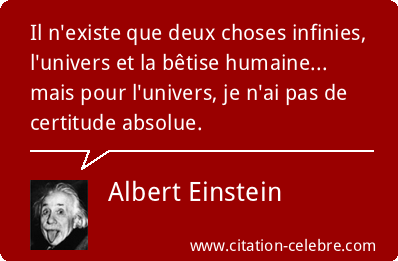 citation Eistein